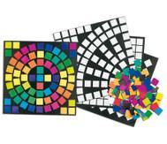 4.000 Spektrum-Papier-Mosaik-Plättchen