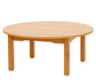 Betzold Runder Tisch, Buche hell, 52 cm hoch