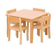 Möbel-Sparset Quadro - Sitzhöhe 42 cm