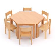 Möbel-Sparset Trapo - Sitzhöhe 30 cm