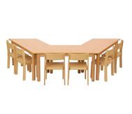 Möbel-Sparset Padma - Sitzhöhe 26 cm