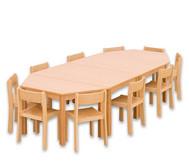 Möbel-Sparset Kusuma - Sitzhöhe 30 cm