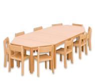 Möbel-Sparset Kusuma - Sitzhöhe 34 cm