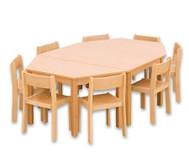 Möbel-Sparset Batur - Sitzhöhe 26 cm