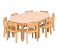 Möbel-Sparset Batur - Sitzhöhe 34 cm