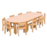 Möbel-Sparset Bunga - Sitzhöhe 26 cm