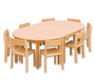 Möbel-Sparset Karima - Sitzhöhe 42 cm