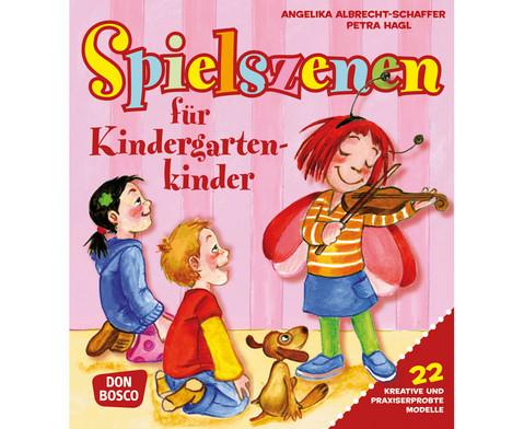 Buch Spielszenen fuer Kindergartenkinder-1