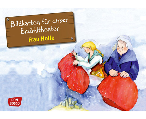 Bildkarten Frau Holle