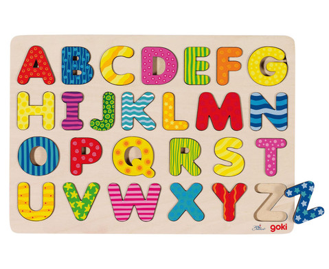 Alphabet-Puzzle A - Z-1