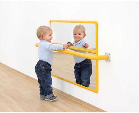 Wandspiegel gelb-2