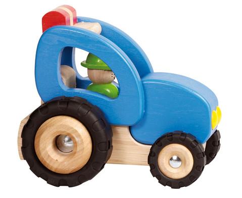 Holzfahrzeug Traktor-1