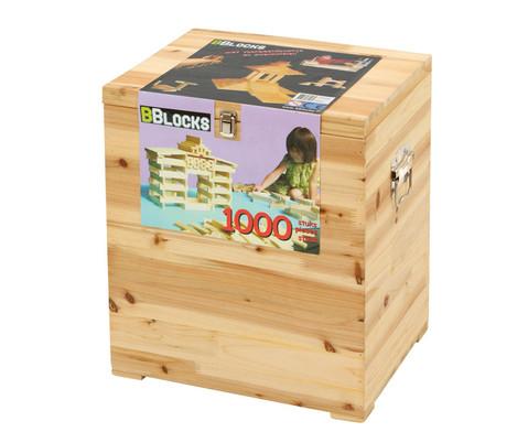 edumero Hopla Bau-Kiste - 1000 Stück