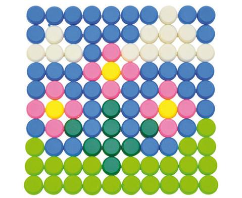 Knopf-Steckspiel 1010 Teile-8