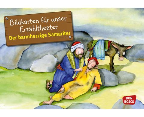 Bildkarten Der barmherzige Samariter