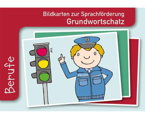 Berufe Sprachfoerderung mit Bildkarten-1