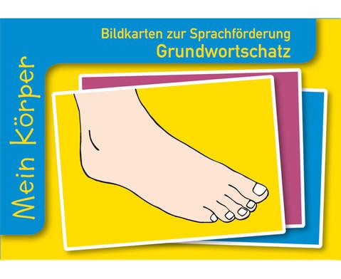 Mein Koerper Sprachfoerderung mit Bildkarten