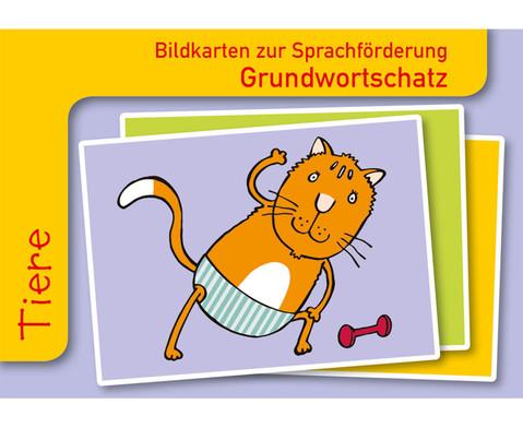 Tiere Sprachfoerderung mit Bildkarten