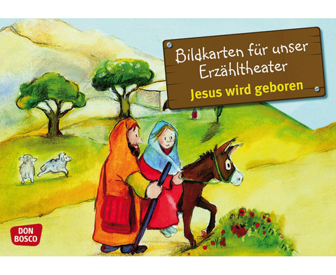 Bildkarten Jesus wird geboren
