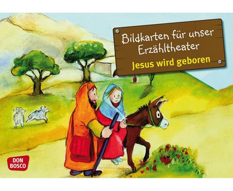 Jesus wird geboren Kamishibai-Bildkartenset