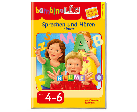 bambinoLUEK-Heft Sprechen und hoeren - Anlaute-1