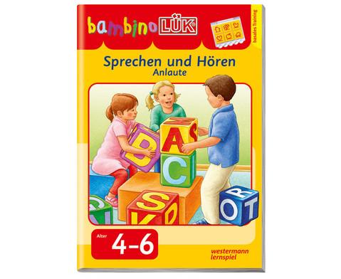 bambinoLUEK-Heft Sprechen und hoeren - Inlaute