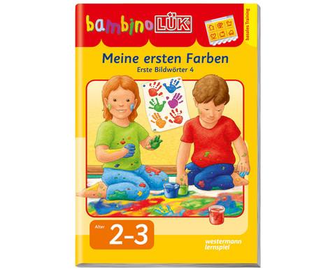 Bambino LUEK-Heft Meine ersten Farben-1