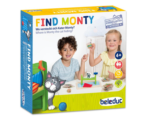 Spiel Find Monty