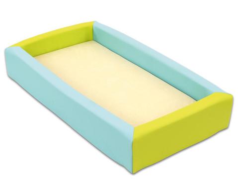Krippen Schaum-Bett mit Matratze-1