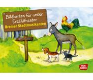 Bildkarten: Bremer Stadtmusikanten