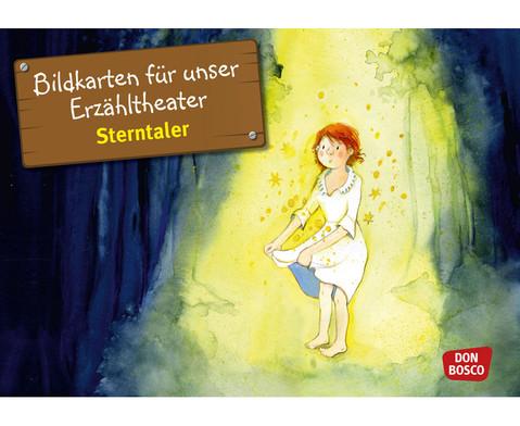 Bildkarten Sterntaler