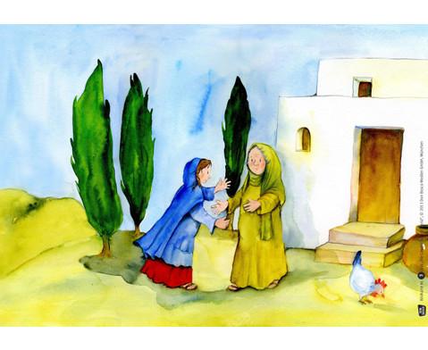 Bildkarten  Die Geschichte von Maria-4