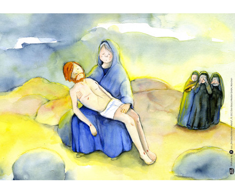 Bildkarten Die Geschichte von Maria-5