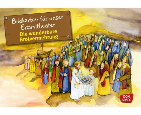 Bildkarten  Die wunderbare Brotvermehrung-1