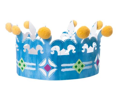 Geburtstagskrone Bastel-Set  6 Stueck-4