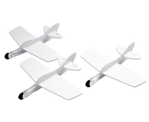 Styropor  Flugzeuge 3er Set-4