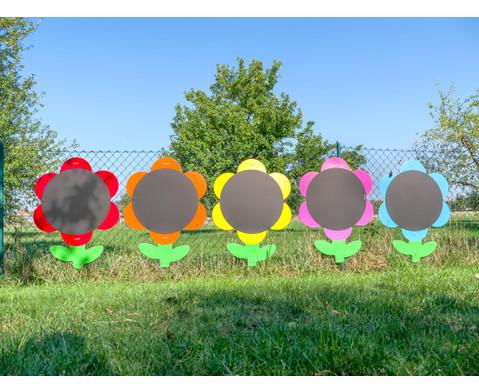 Blumen-Tafeln fuer In- und Outdoor 5er-Set-1