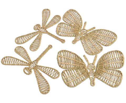 Web-Schmetterlinge  Libellen