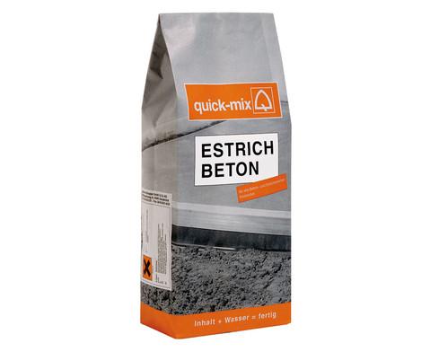 Quick-mix Beton fuer Platten 10 kg