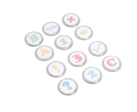 Magnet-Button zum Selbstgestalten - 12 Stueck-2