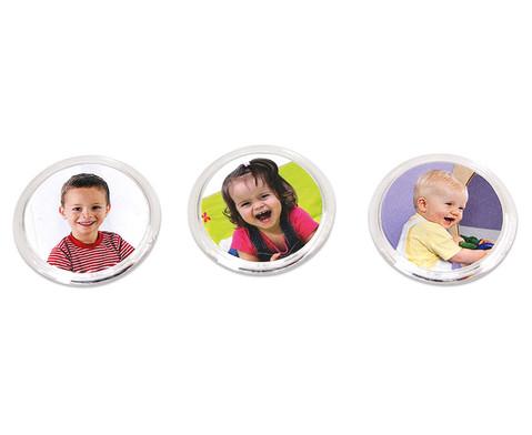Magnet-Button zum Selbstgestalten - 12 Stueck
