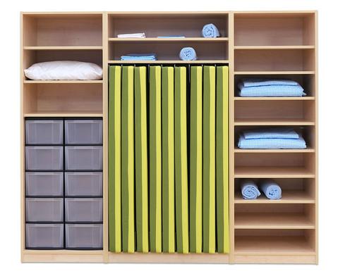 flexeo schrank 10 gro e boxen f r liegepolster 160 cm breite 223 cm. Black Bedroom Furniture Sets. Home Design Ideas