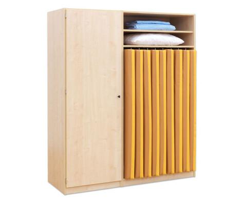 flexeo schrank 20 kleine boxen 1 schrankt r f r liegepolster 140 cm breite 159 cm. Black Bedroom Furniture Sets. Home Design Ideas