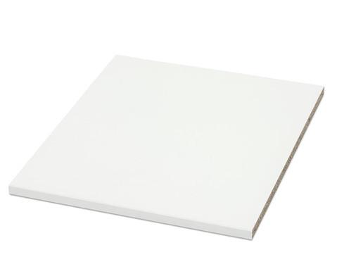 Flexeo Zusaetzlicher Einlegeboden fuer Anbauregal 48 cm breit