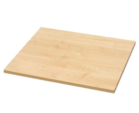 Flexeo Zusaetzlicher Einlegeboden fuer Anbauregal 64 cm breit