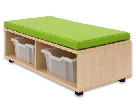 Sitzbank - rechteckig-2