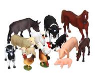 Bauernhof Tiere, 14-tlg. Set