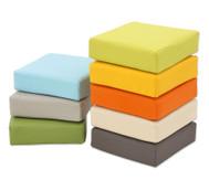Regenbogen-Sitzkissen-Set in 8 Farben
