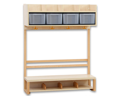 Krippen-Komplett-Garderobe 2 Boxen-1