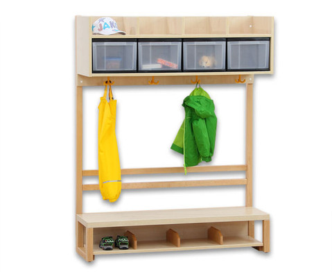 Krippen-Komplett-Garderobe 2 Boxen-6